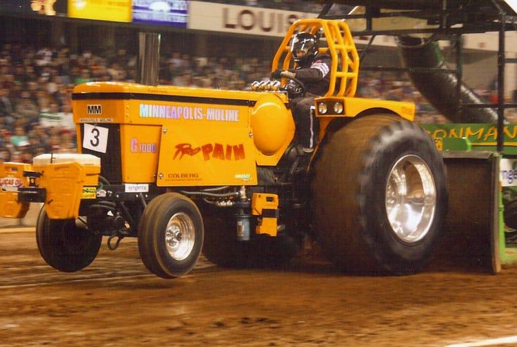 Pulling Tractors